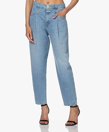 Closed Pearl Bio-Katoenen Mom Jeans - Lichtblauw