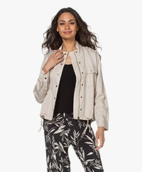 Rails Collins Linen and Linen Blend Jacket - Bone