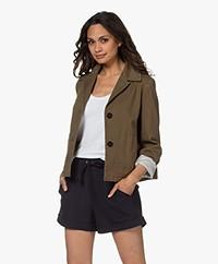 Drykorn Barbican Cotton Twill Jacket - Khaki