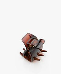 Bon Dep Mini Hair Claw - Brown