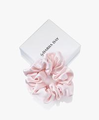 By Dariia Day Mulberry Silk Scrunchie Medium - Blush Pink
