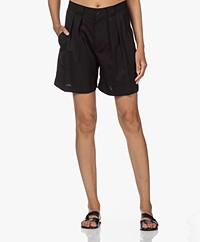Closed Joon Bermuda Wollen Shorts - Zwart
