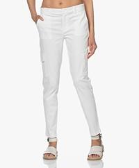 Josephine & Co Lorette Cotton Blend Pants - Off White