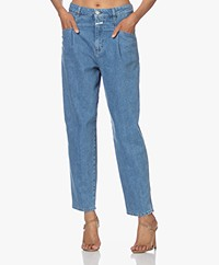 Closed Pearl Bio-Katoenen Mom Jeans - Middenblauw