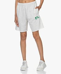 Dolly Sports Team Dolly Cotton Shorts - Light Grey Melange