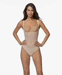 Wolford Tulle Forming String Body - Nude