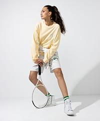 Dolly Sports Team Dolly Cotton Sweatshirt - Light Yellow