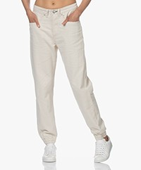 Rag & Bone Engineered Jogger Cotton Blend Pants - Natural