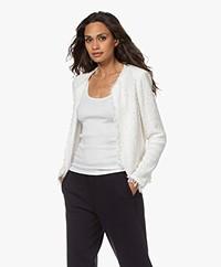 IRO Shavani Boucle Jacket - Off-white
