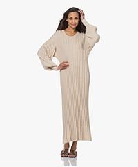 By Malene Birger Arisarum Rib Jersey Maxi Dress - Wood