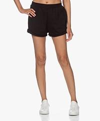 Ragdoll LA Katoenmix Sweat Shorts - Zwart