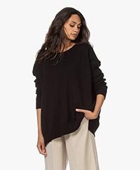 Sibin/Linnebjerg Elsa Merino Blend Sweater - Black