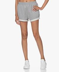 Ragdoll LA Cotton Blend Sweat Shorts - Heather Grey