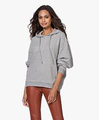American Vintage Neaford  Hooded Sweater - Grey Melange