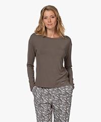 Calvin Klein Modal Long Sleeve - Platinum Grey