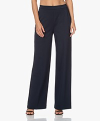 Wolford Baily Viscose Blend Ponte Jersey Pants - Midnight