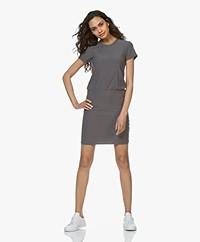 James Perse Jersey T-shirt Dress - Charcoal