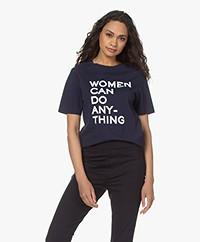 Zadig & Voltaire Bella Women T-shirt - Encre