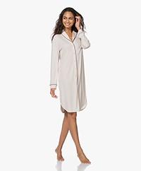 HANRO Natural Comfort Tencel Night Shirt - Almond