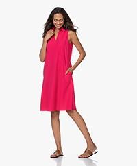 JapanTKY Lyame Sleeveless Travel Jersey Dress - Barry Pink