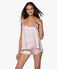 By Dariia Day Mulberry Silk Camisole - Blush Pink