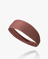 Norba Ballet Soft Stretch Hairband - Rosewood