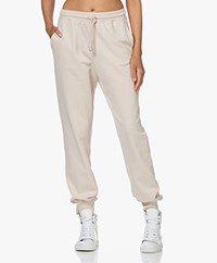 By Malene Birger Tanya French Terry Sweatpants - Stone